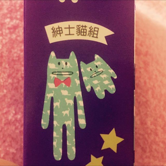 全家集點 宇宙人吊飾 磁鐵 1+1組 紳士貓