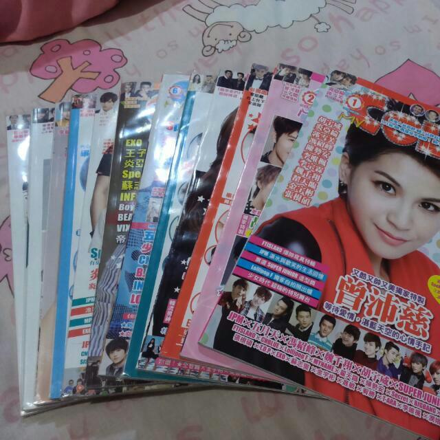 ↘ color雜誌 2014年1-12月