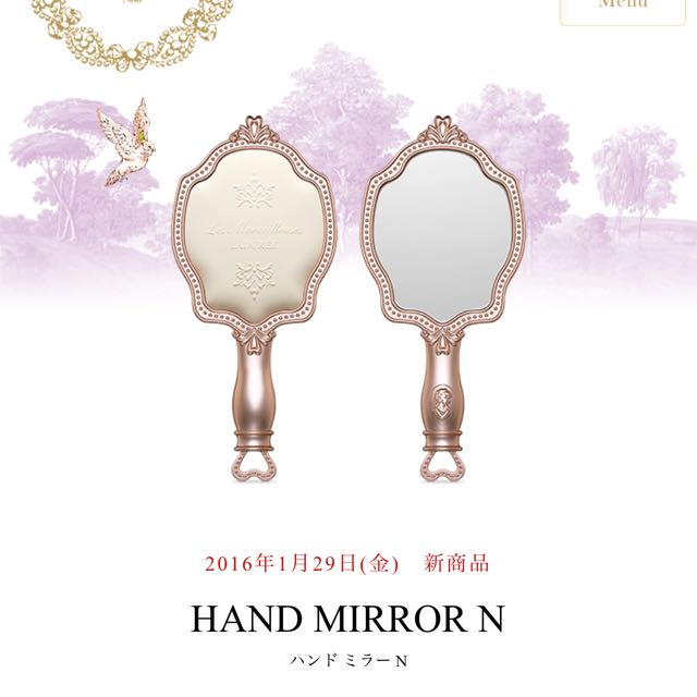 ✈️預購中 LADUREE 2016 日本 春天 限定 手拿鏡 1/29限量發售