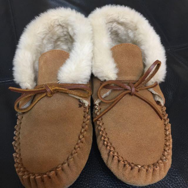 莫卡辛  Minnetonka  Chrissy Bootie保暖毛毛鞋