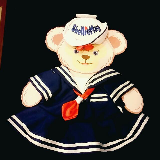 香港迪士尼 S 號雪莉玫 限定款水手服