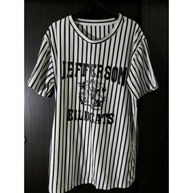 Baseball Stripe Tshirt