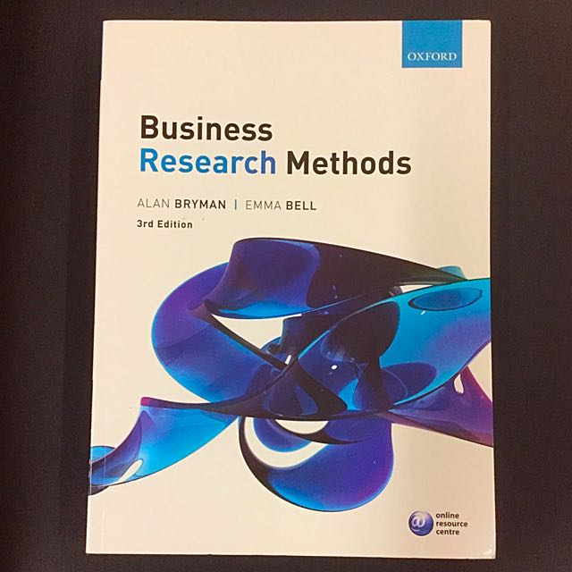 Business research methods oxford alan bryman emma bell third edition photo photo photo fandeluxe Image collections