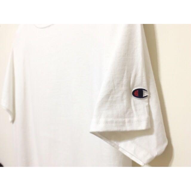 (含運)美版🏆Champion Logo白短Tee T425WH
