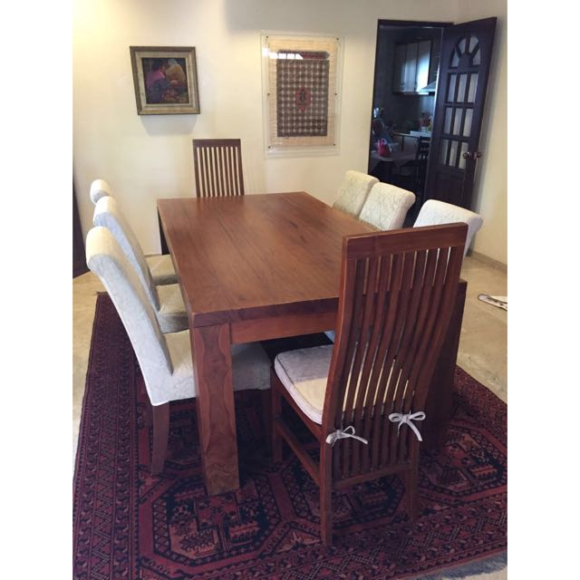 Dining Table 8 Seater (Made Of Teak)