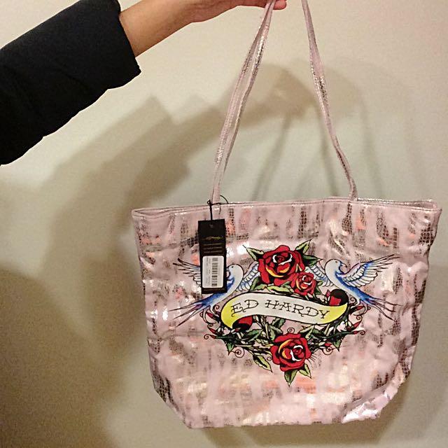 🇺🇸Ed Hardy Cathy Tote Bag