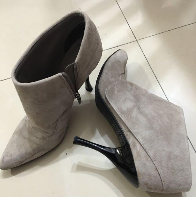 Enzo二手短靴 37號