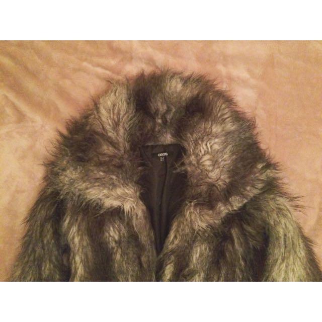 Faux Fur Jacket ASOS