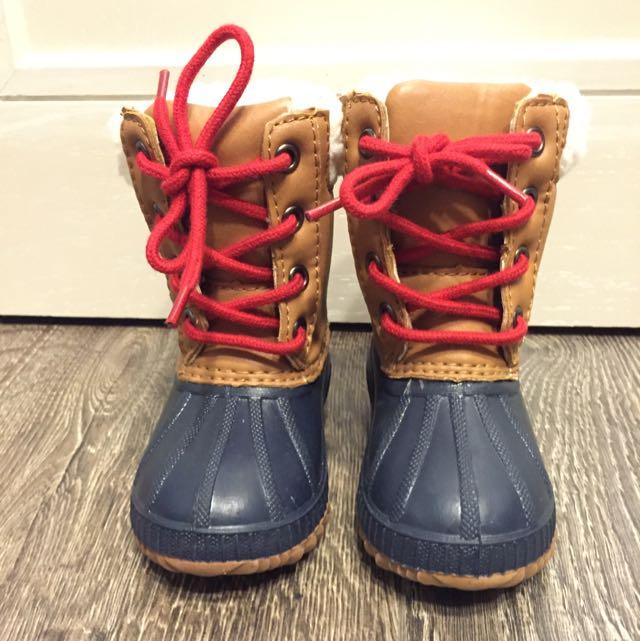 Gap小女生雪靴 12.5-13.5cm