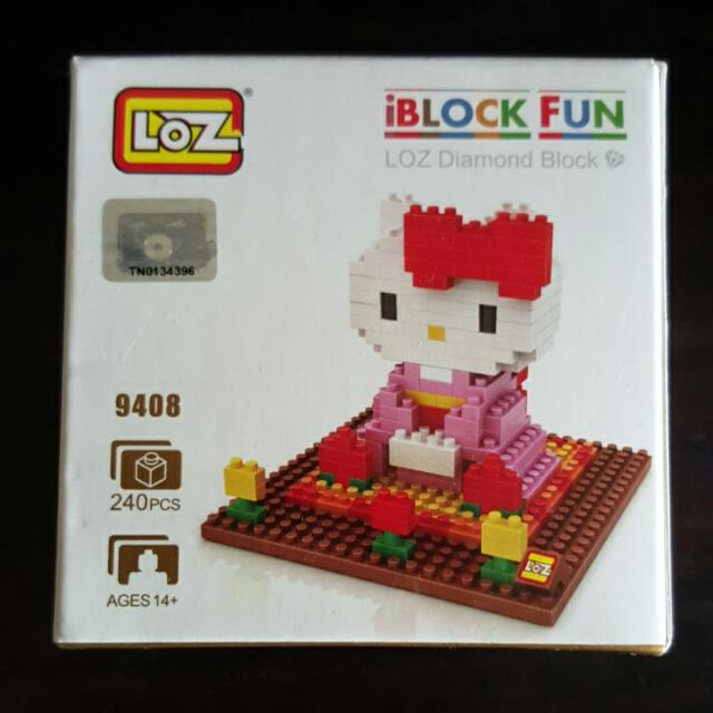 Hello Kitty Lego Block