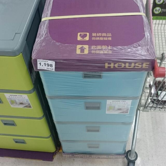 House大四層收納櫃