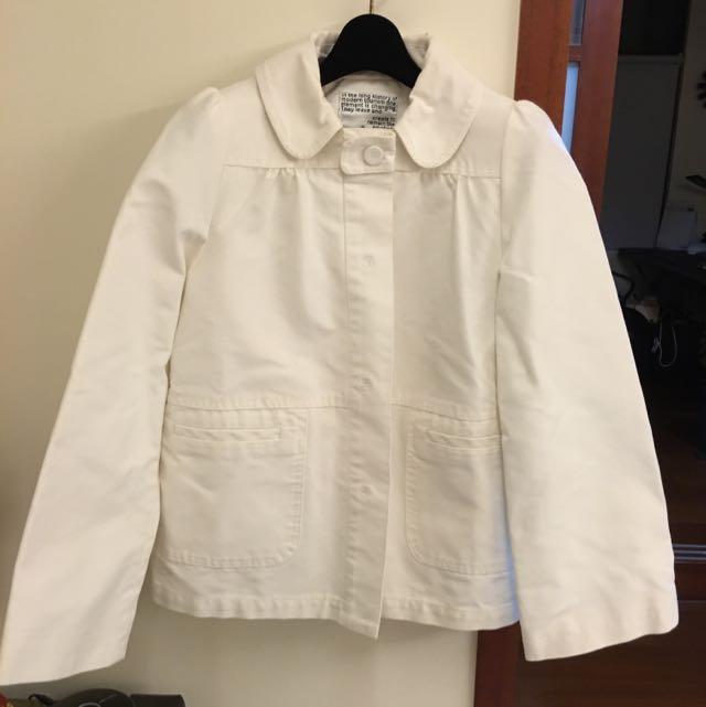 IN白色外套