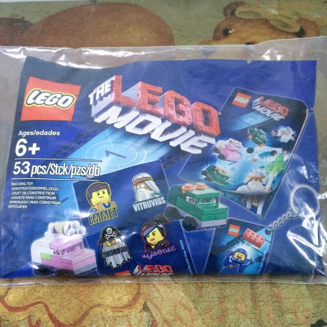 正版樂高LEGO 玩電影系列組合包