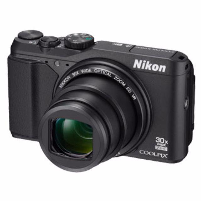 全新Nikon COOLPIX S9900-黑-提貨卷