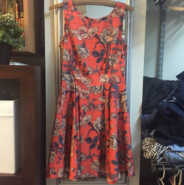 Orange Floral MinkPink Dress!