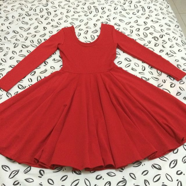 Red Ballerina Dress