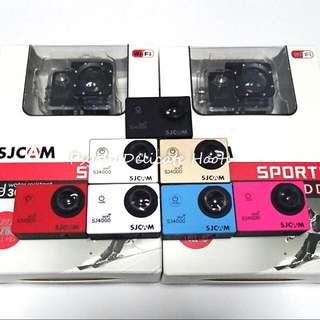 SJ4000 SJCAM Wifi & Non WiFi Action camera Sports Video/Gopro Hero Series with accessories