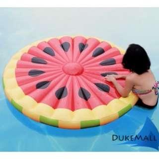 ☀Chi's shop~☀ 現+預 超大西瓜水果片BIG MOUTH漂浮墊 游泳圈造型泳圈 海邊沙灘 充氣浮板 接急單