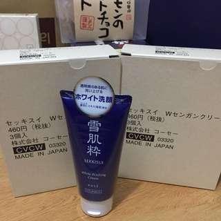 日本 KOSE雪肌粹洗面乳