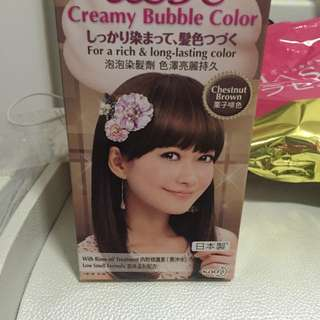 Liese Creamy Bubble Color (Chestnut Brown)