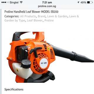 Handheld Blower-for Leaf Blowing-demo-on-the-spot- Open Daily 9am To 5pm Inclusive Sat/Sun-hp 96668218