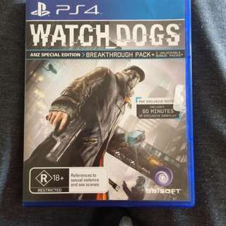 PS4 Watch Dogs ANZ Special