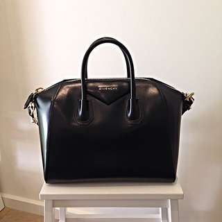 Sold - Givenchy Antigona Medium In Black