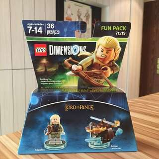 Lego Dimension 71219 Legolas Fun Pack