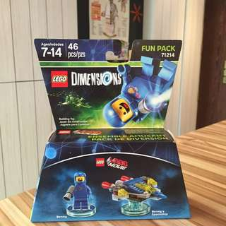 Lego Dimensions 71214 Fun Pack Benny Spaceship