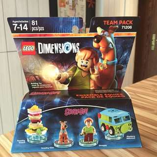 Lego Dimensions Scooby Doo 71206 Team Pack Mystery Machine