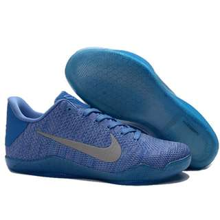 NIKE AIR ZOOM KOBE 11 ZK XI新款海軍編織 科比11代籃球鞋 男鞋