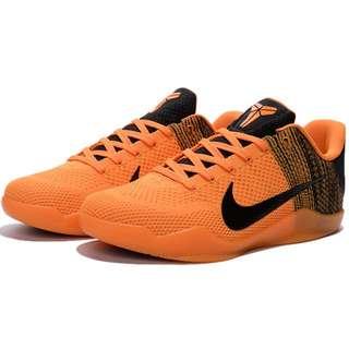 NIKE AIR ZOOM KOBE 11 ZK XI新款黃黑編織 科比11代籃球鞋 男鞋