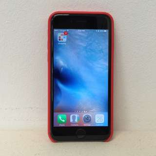 brand New iPhone 6 Plus Leather cover red