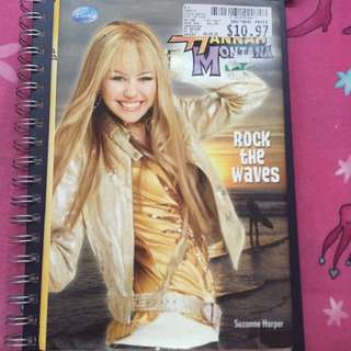 Hannah Montana Story Book : Rock The Waves