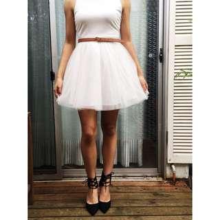 White Swan Tutu Dress