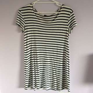 Sportsgirl Striped T-shirt Dress