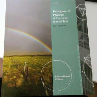Principles Of Physics Textbook