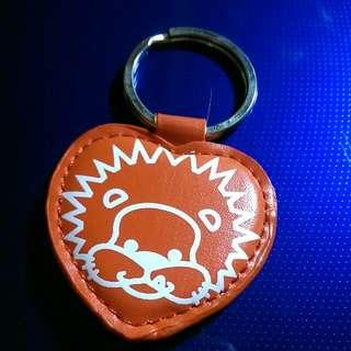 潮牌皮革鑰匙圈