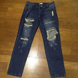 ✨含運✨刷破牛仔褲