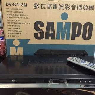 SAMPO DVD播放機