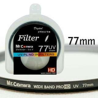 鏡頭保護鏡 77mm UV