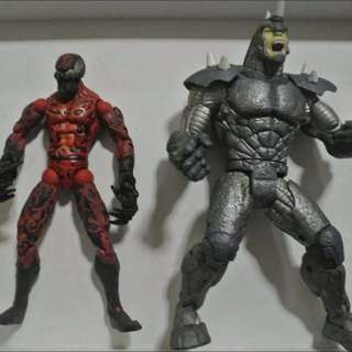Marvel legends carnage and Rhino