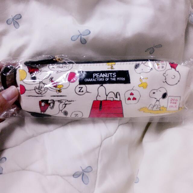 日本史努比筆袋