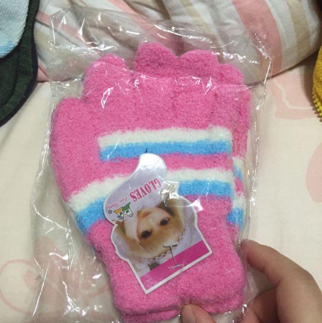 /買就送/小女生的毛毛手套