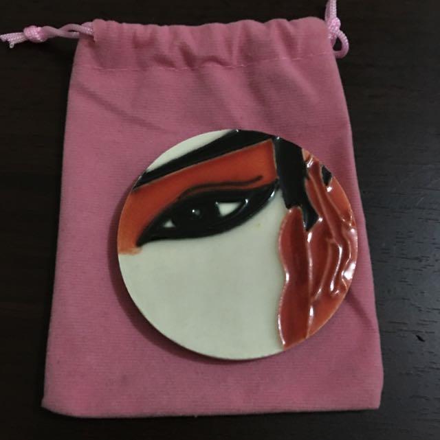 鏡子 隨身鏡 中國風 陶瓷 售200