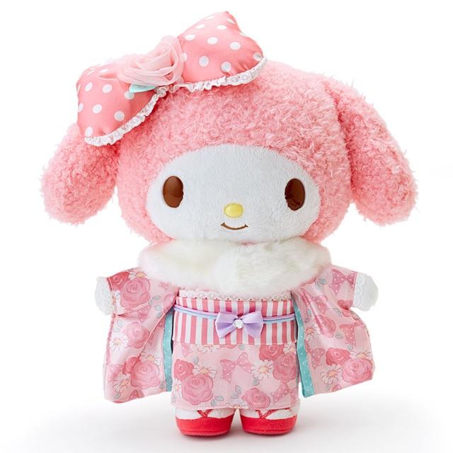 日本限定 最新 Melody美樂蒂和服玩偶/娃娃 -現貨