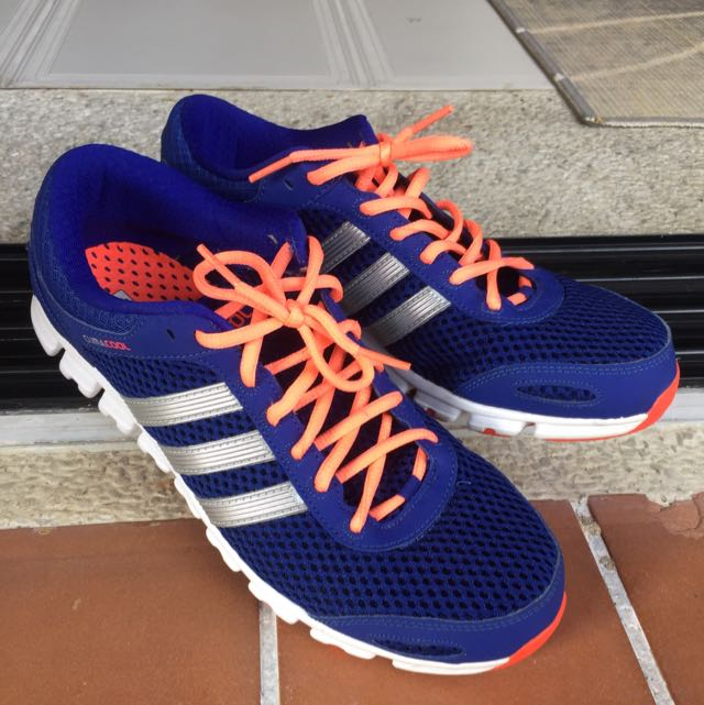Adidas Blue Trainers - ClimaCool Design