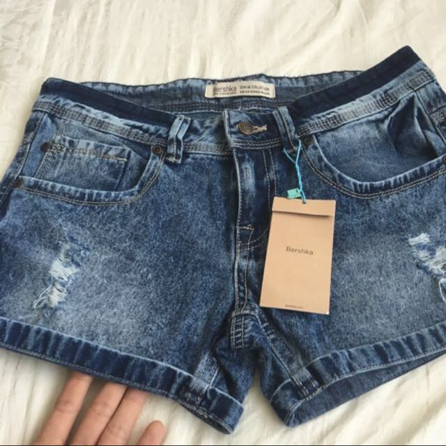 BNWT Denim Shorts Bershka