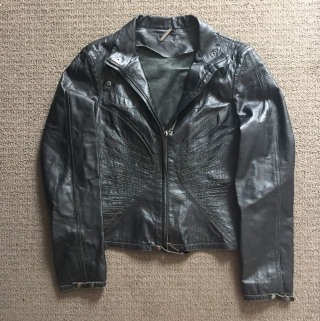 Bsb 100% Real Leather Jacket