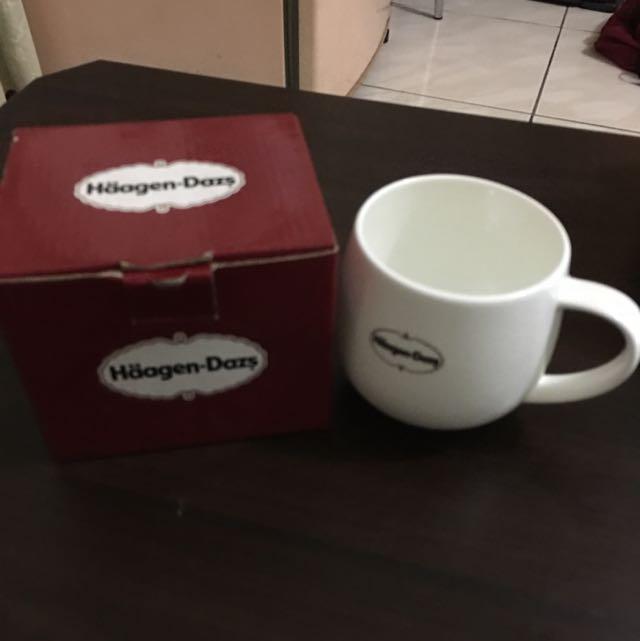 Haagen-dazs 杯子 全新 附盒 售300